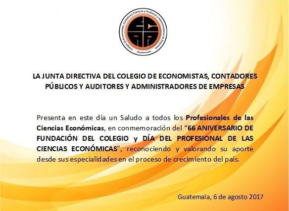 FELIZ DÍA DEL PROFESIONAL DE LAS CIENCIAS ECONÓMICAS