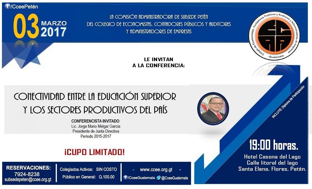 CONECTIVIDAD ENTRE LA EDUCACIÓN SUPERIOR Y LOS SECTORES PRODUCTIVOS DEL PAÍS