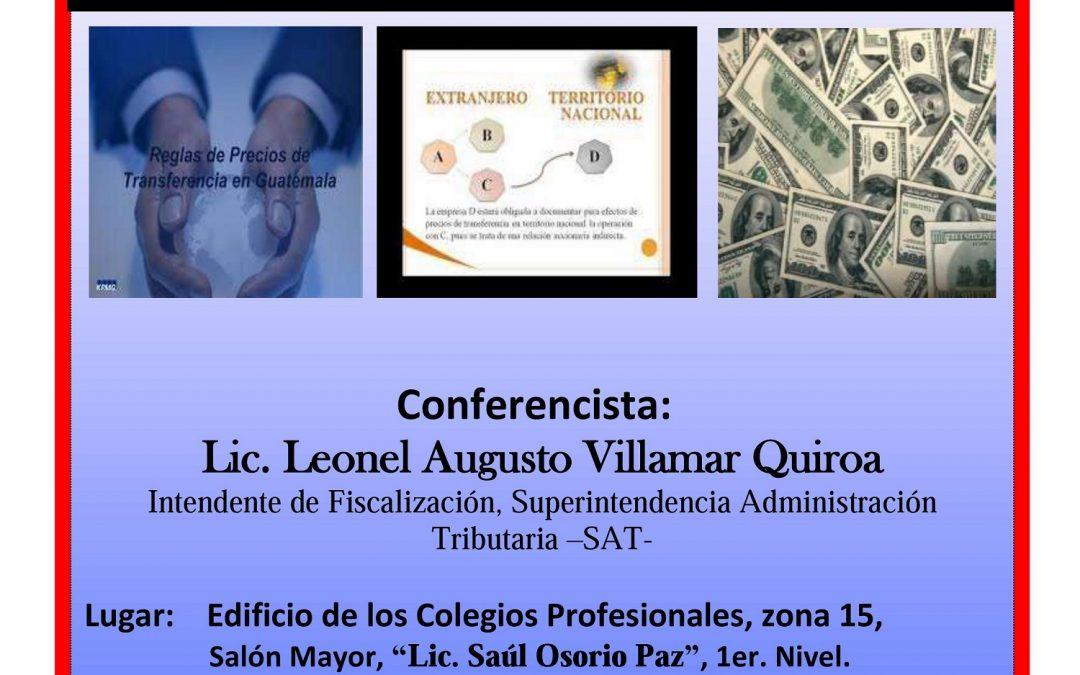 """""""LOS PRECIOS DE TRANSFERENCIA EN GUATEMALA"""""""