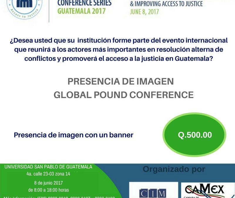 PRESENCIA DE IMAGEN GLOBAL POUND CONFERENCE
