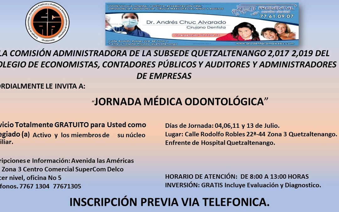 JORNADA MÉDICA ODONTOLÓGICA