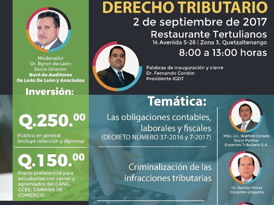 SEGUNDA JORNADA QUETZALTECA DE DERECHO TRIBUTARIO